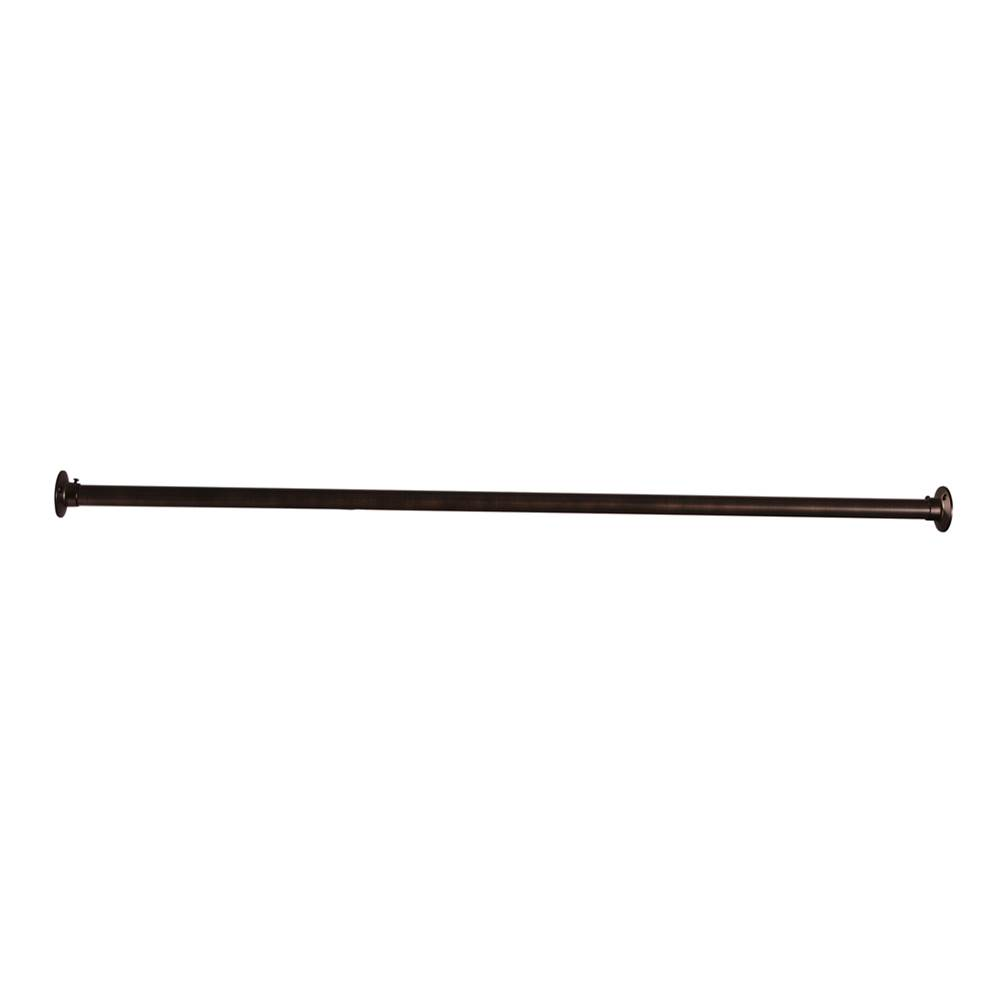 Barclay 4100 Straight Rod, 72'', w/310 Flanges, Oil Rubbed Bronze