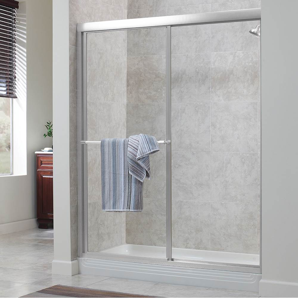 Foremost Tides Framed By-Pass Sliding Shower Door