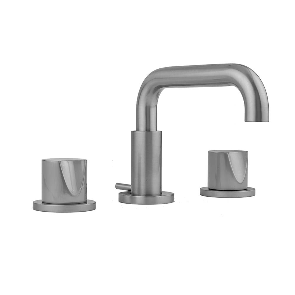 Jaclo Downtown Contempo Faucet with Round Escutcheons and Thumb Handles