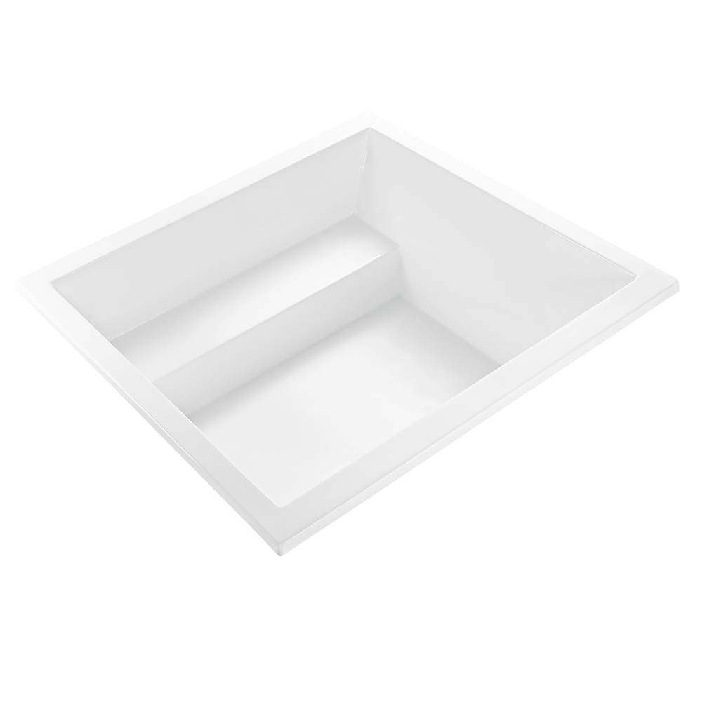 MTI Baths 60X60 WHITE UNDERMOUNT WHIRLPOOL Kalia 3