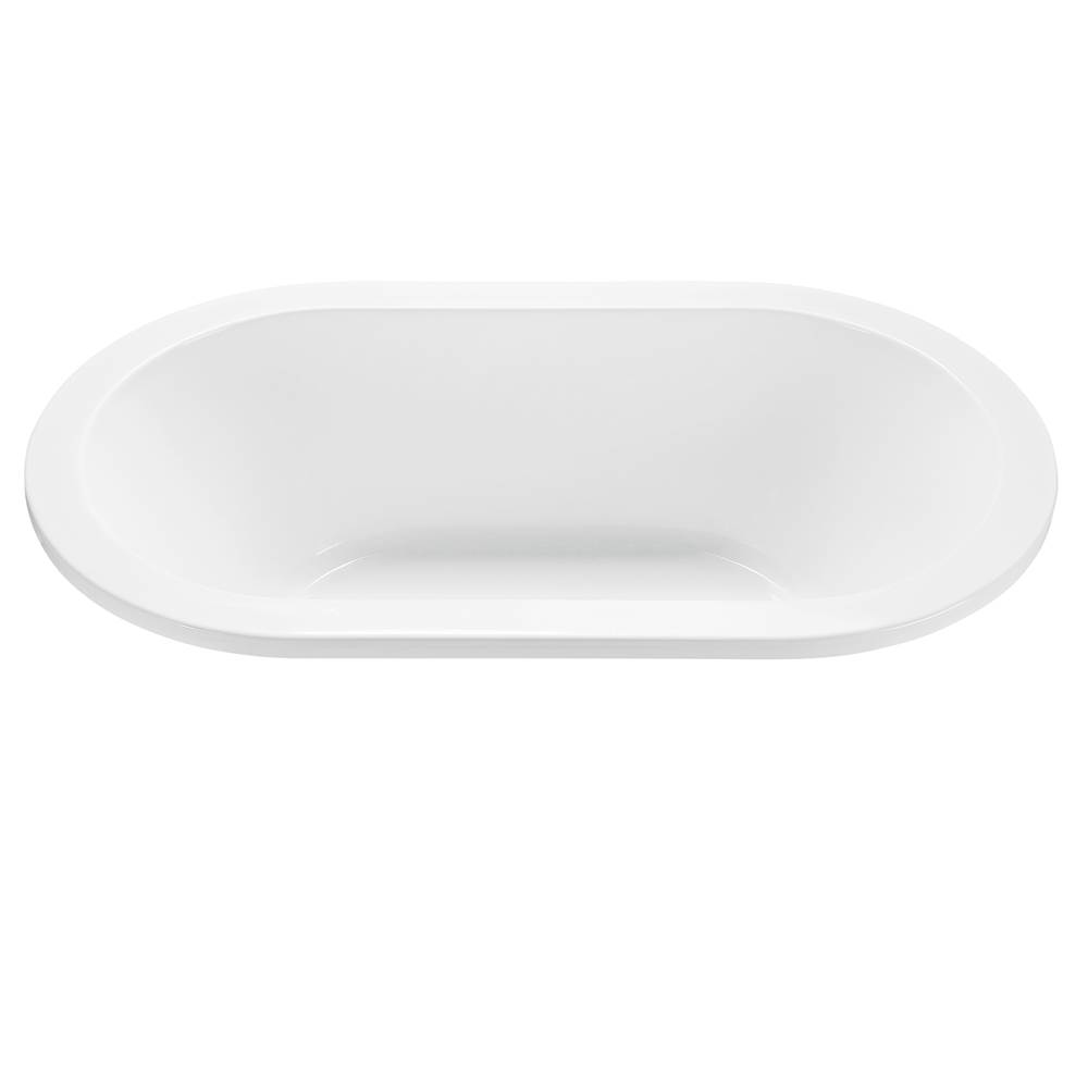 MTI Baths 72X42 ALMOND DROP-IN OVAL STD WP/ARIA ELITE COMBO-new yorker 1