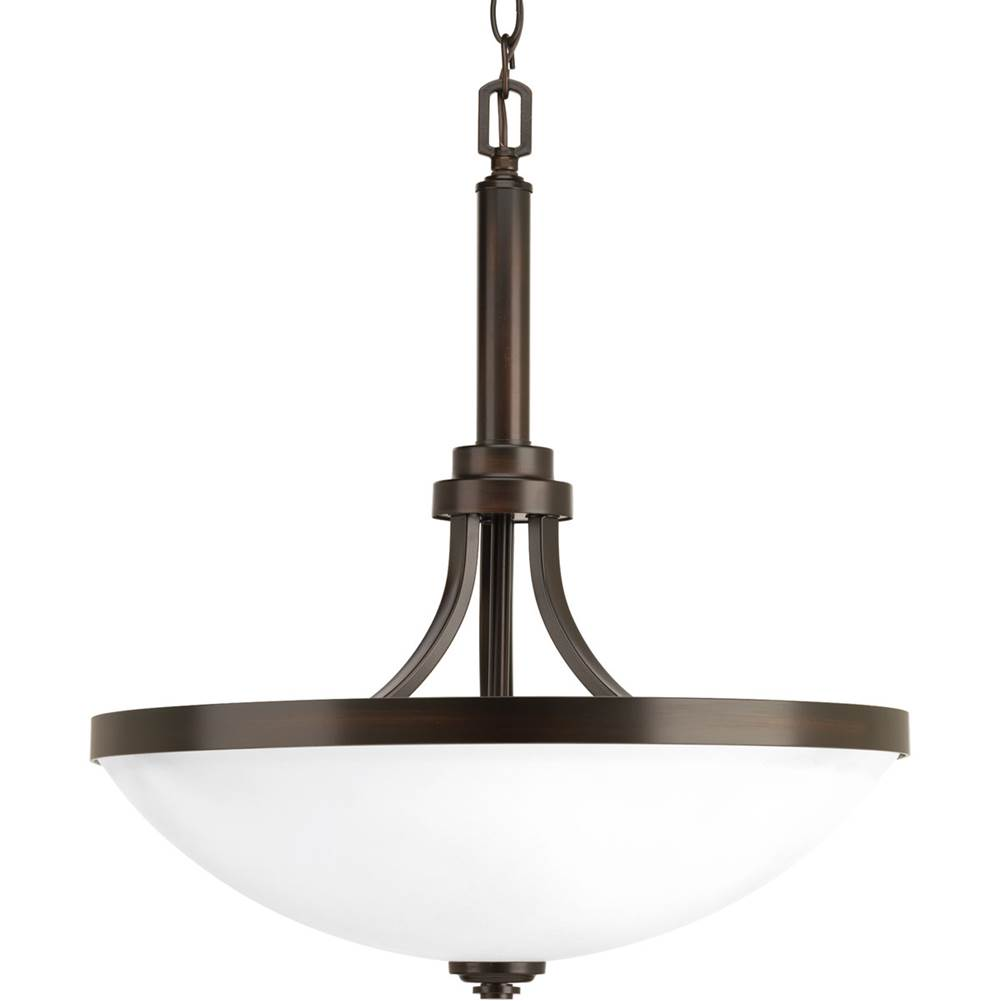 Progress Lighting Topsail Collection Three-light inverted pendant